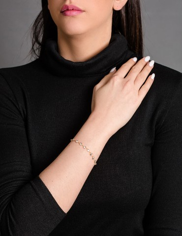 Gold chain bracelet Rinalda