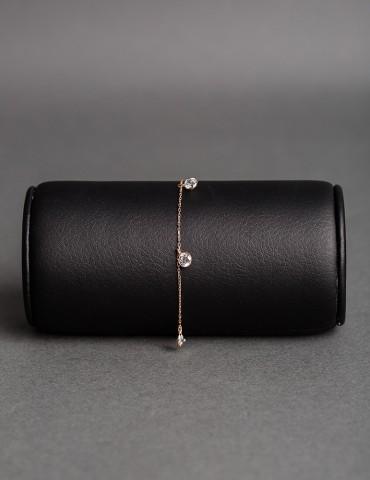 Rose gold chain bracelet...