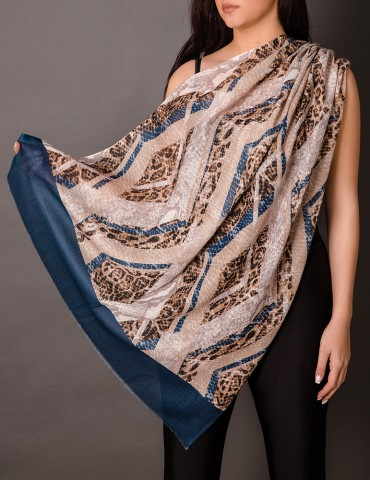 Μulti-coloured shawl with...