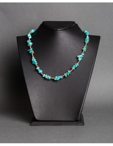 Νecklace with turquoise
