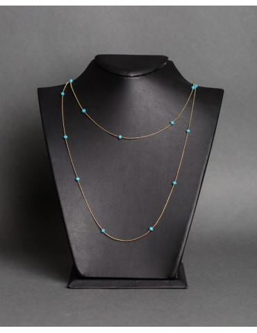 Long necklace with...