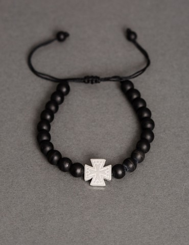 Αdjustable bracelet with cross
