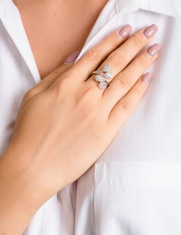 Μargarita silver ring