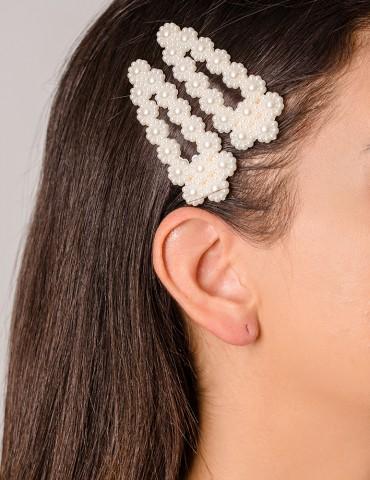 Flora hair clips set