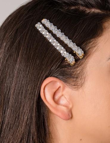 Claretta hair clips set