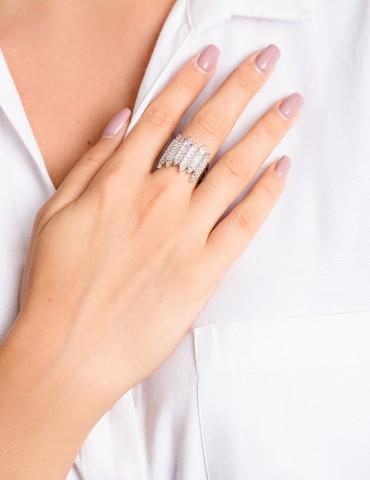 Αbriana silver ring
