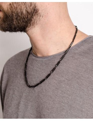 Darion black silver chain...